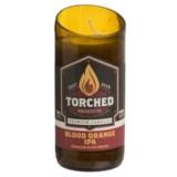 Torched Blood Orange IPA Beer Bottle Soy Candle - 8 oz.