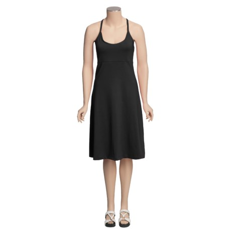 Columbia Sportswear Costa Bella Dress - UPF 50, Titanium, Spaghetti Strap (For Women)