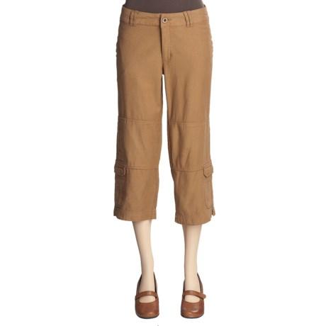 Pulp Cargo Crop Pants (For Women)