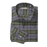 Mason's Cotton Plaid Sport Shirt - Long Sleeve (For Men)