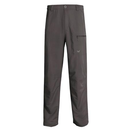 White Sierra Wicking Comfort Fit Pants - UPF 30 (For Men)