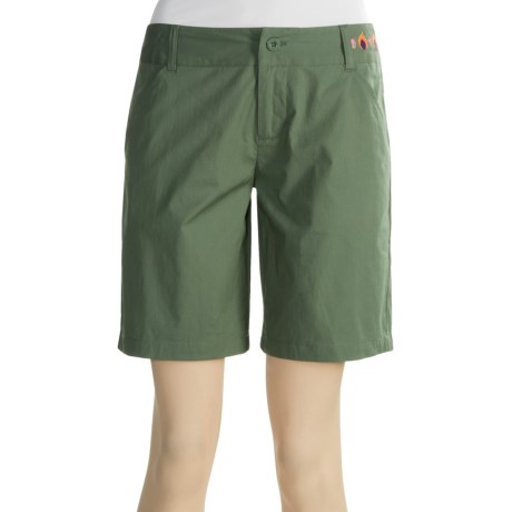 Carve Designs Lawrence Shorts -Stretch Poplin (For Women)