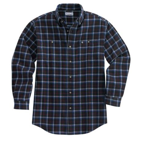 Carhartt Plaid Work Shirt - Midweight, Long Sleeve (For Men)