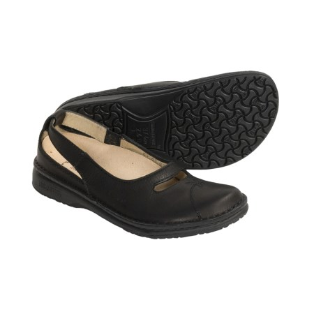 Footprints by Birkenstock Jersey Shoes - Leather Slip-Ons (For Women)