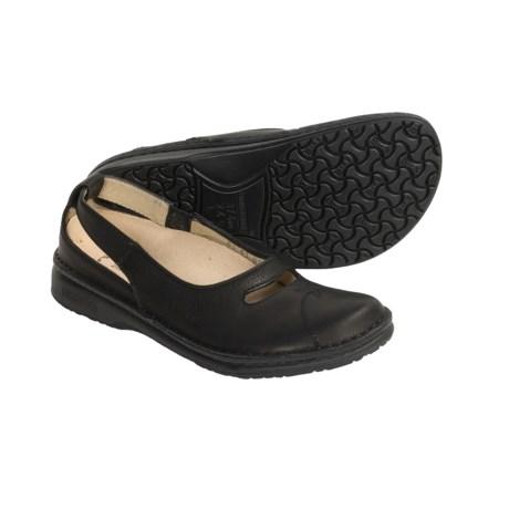 Birkenstock Footprints by  Jersey Shoes - Leather Slip-Ons (For Women)