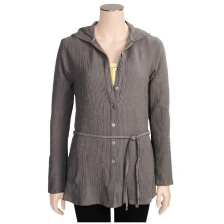 Columbia Sportswear Pucker Up Hoodie Tunic Shirt - UPF 15, Long Sleeve (For Women)