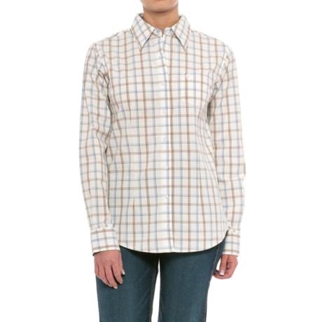 Wrangler George Strait Plaid Shirt - Long Sleeve (For Women)
