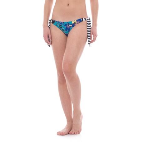 Roxy Pop Surf Polynesia Knotted Bikini Bottoms (For Women)