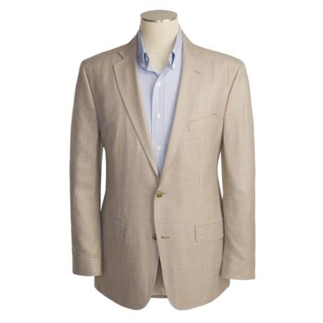 Arnold Brant Plaid Sport Coat - Taupe-Khaki (For Men)