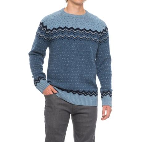 Fjallraven Ovik Patterned Sweater - Wool (For Men)