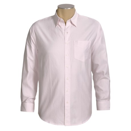 Resistol Dobby Check Shirt - Cotton, Long Sleeve (For Men)