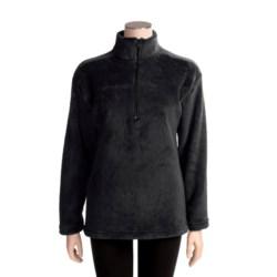 Kenyon High-Loft Polartec® Fleece Pullover - Zip Neck (For Women)
