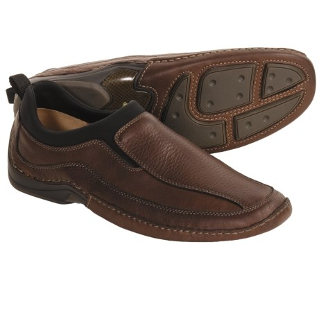 Johnston & Murphy Searcy Runoff Shoes - Leather Slip-Ons (For Men)