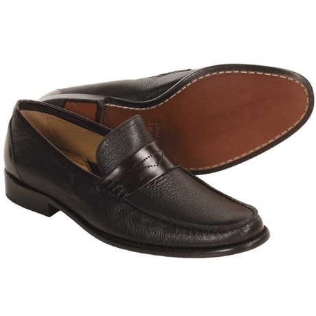 Johnston & Murphy Childress Shoes - Leather Loafers (For Men)