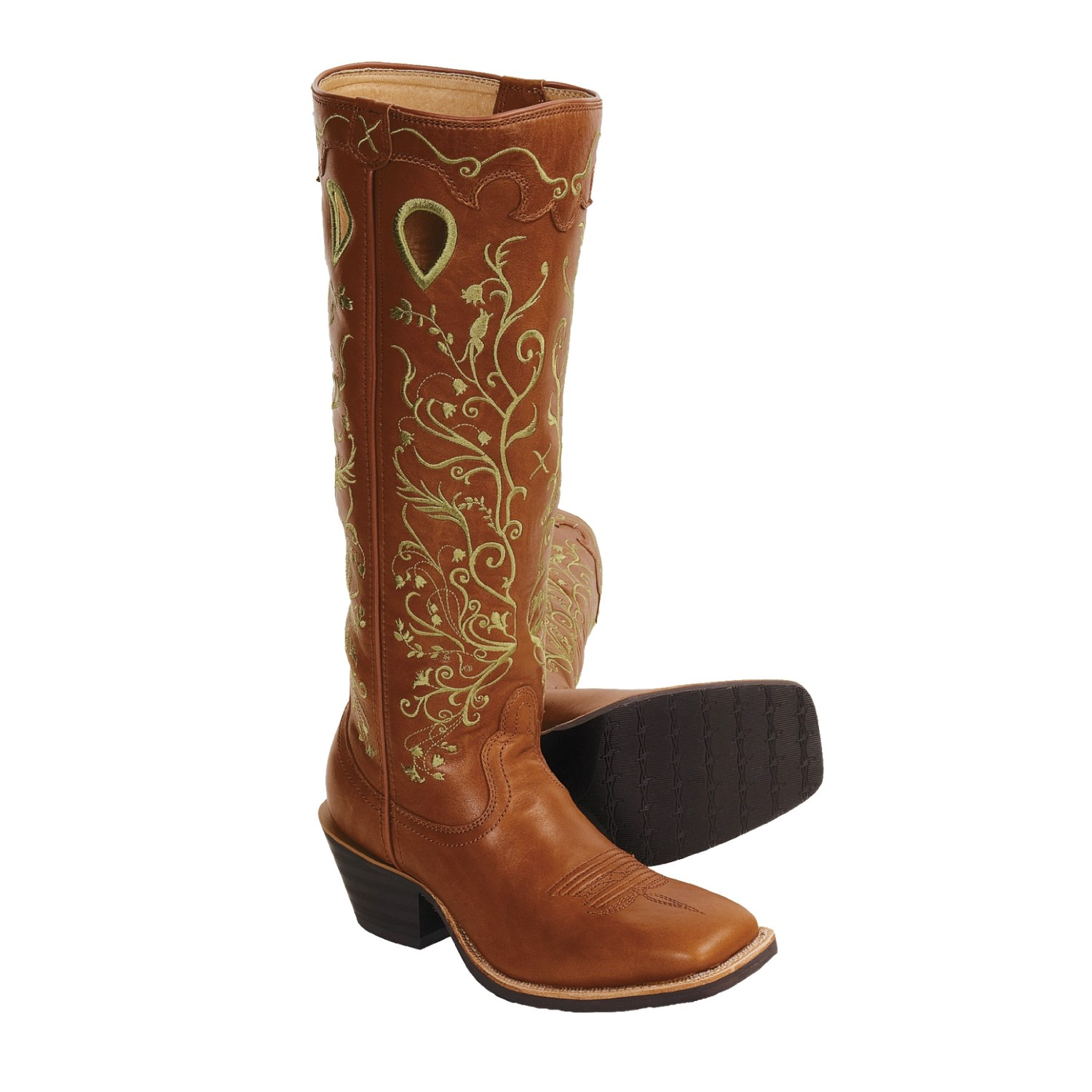 Twisted X Boots Buckaroo Cowboy Boots (For Women) 3207R - Save 33%