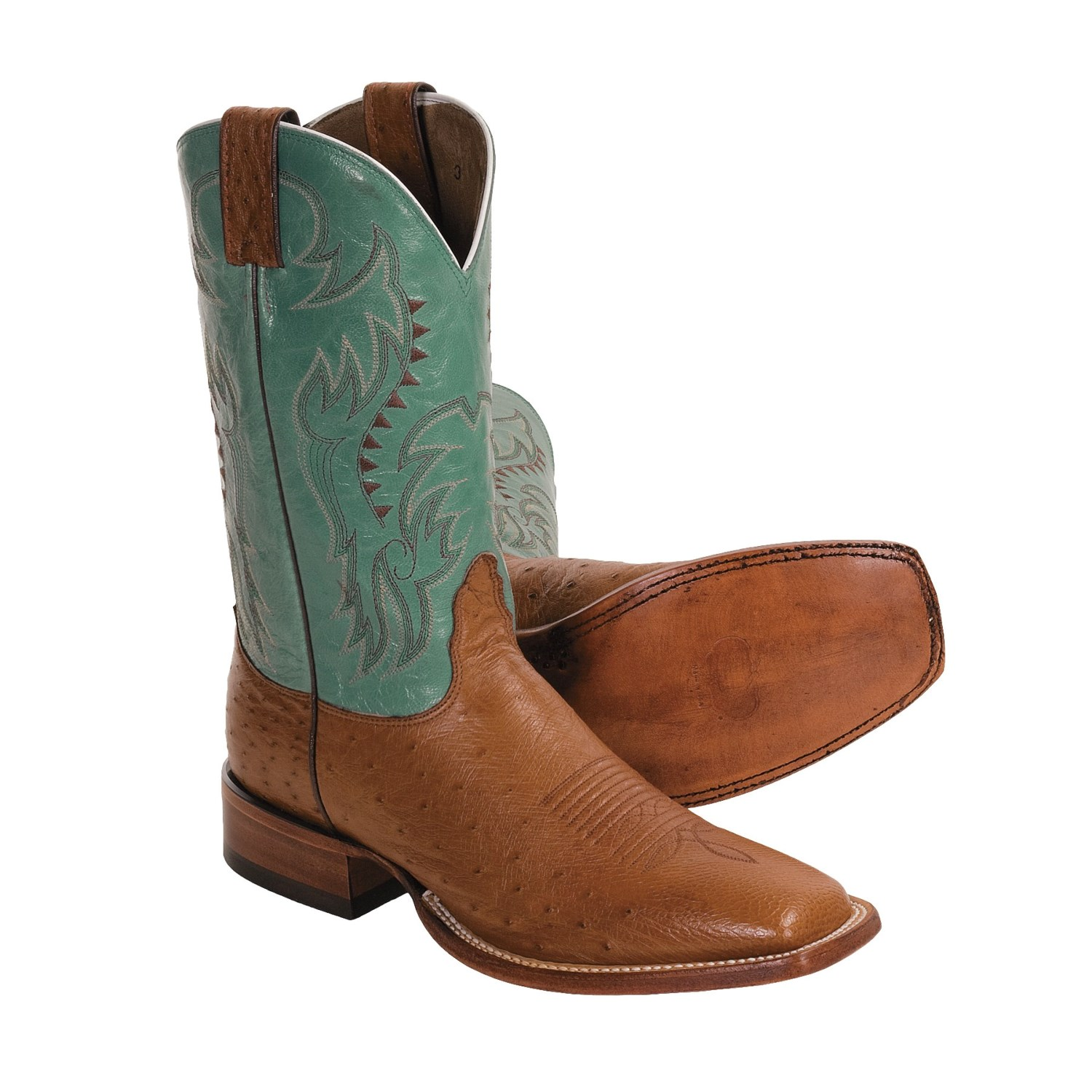 nocona smooth ostrich cowboy boots for 3208m save 30