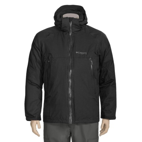 Columbia Sportswear Mt. Huxley 3-in-1 Parka - Titanium, Waterproof, Insulated (For Men)