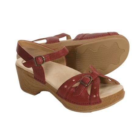 Dansko Sissy Sandals - Leather (For Women)