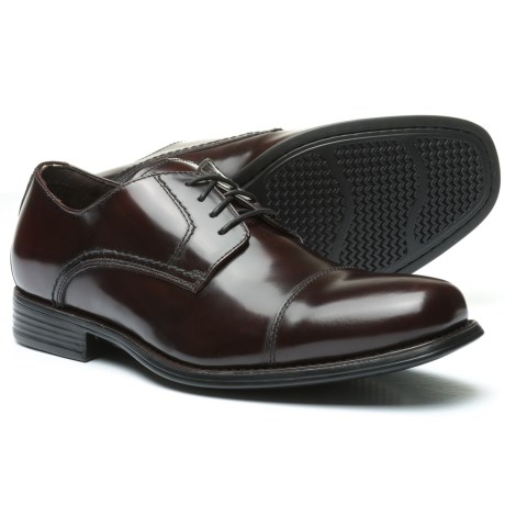 Johnston & Murphy Atchison Cap-Toe Oxford Shoes - Leather (For Men)