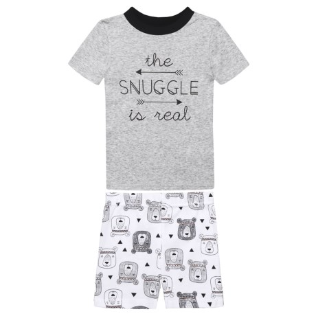 BedHead The Snuggle is Real Pajamas - Short Sleeve (For Kids)