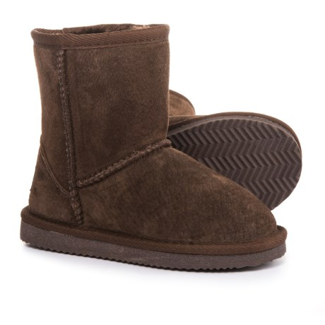 LAMO Footwear Classic Round-Toe Boots - Suede (For Girls)