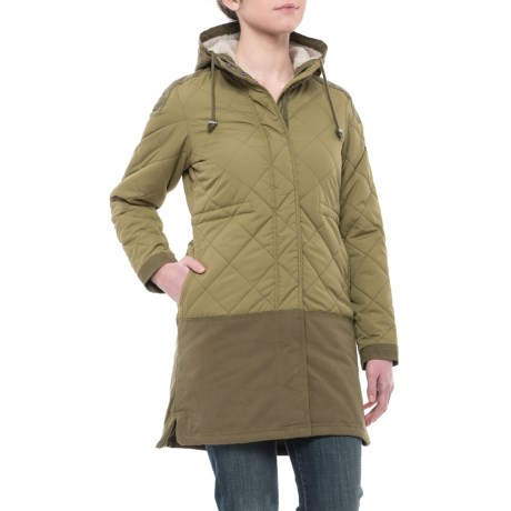 Avalanche Moss Parka - Insulated (For Women)