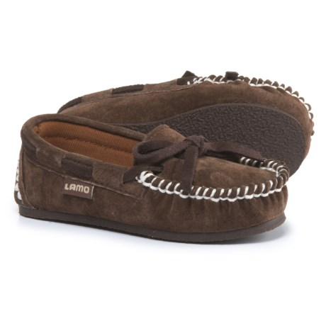 LAMO Footwear Sabrina Moccasins - Suede (For Kids)