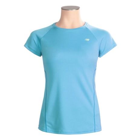 New Balance Tech T-Shirt - Short Sleeve (For Women)