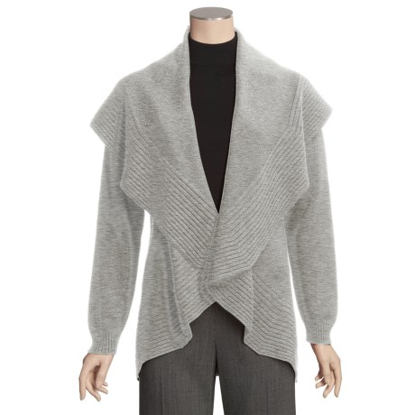 Johnstons of Elgin Circle Cardigan Sweater - Cashmere (For Women)