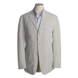 Bills Khakis Pinpoint Seersucker Sport Coat (For Men)