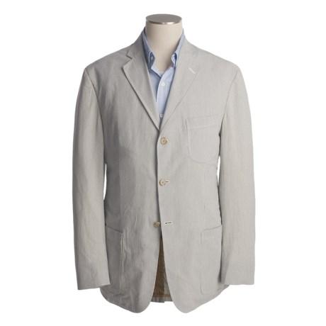 Bills Khakis Pinpoint Seersucker Sport Coat (For Men)