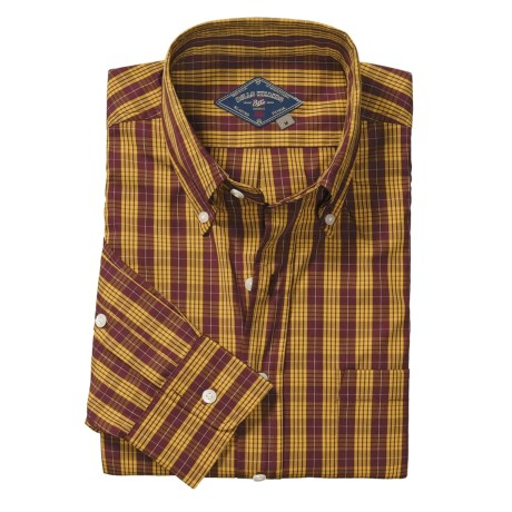 Bills Khakis Ancient Tartans Shirt - Long Sleeve (For Men)