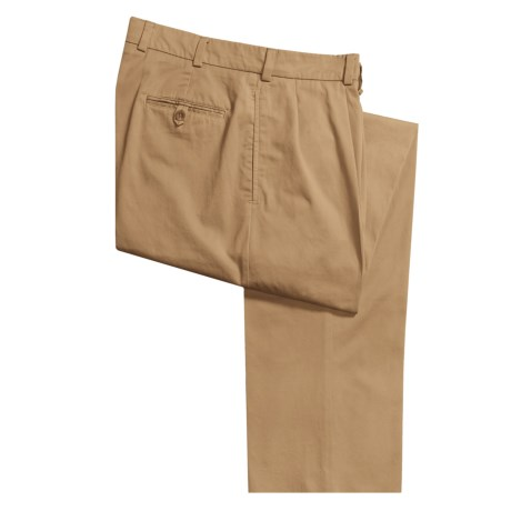 Bills Khakis M1P Nubuck Chamois Cloth Pants - Forward Pleats (For Men)