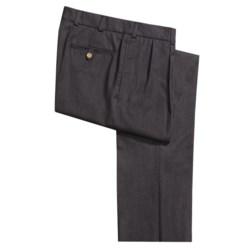 Bills Khakis M2P Gabardine Pants - Worsted Wool, Reverse Pleats (For Men)