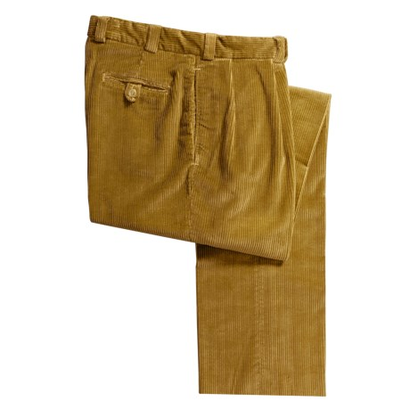 Bills Khakis M1P 6-Wale Corduroy Pants - Forward Pleats (For Men)