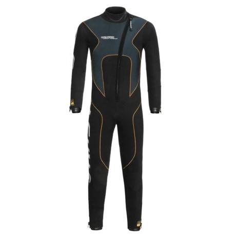 Camaro Stingray Semi-Dry Diving Wetsuit - 5mm (For Men)