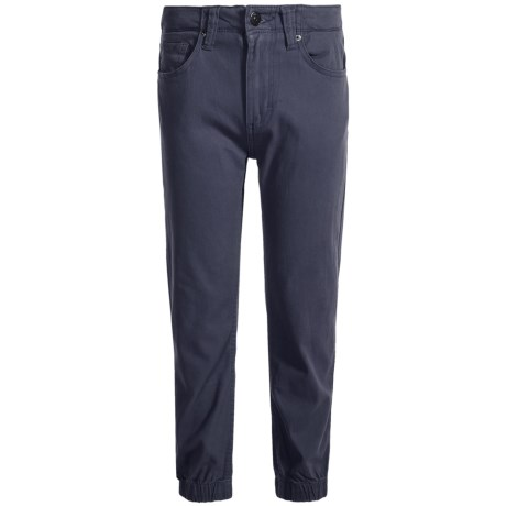 Lee Stretch Twill Joggers (For Little Boys)