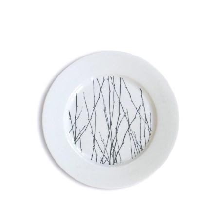 "Bambeco Twigg Porcelain Salad Plate - 8"""