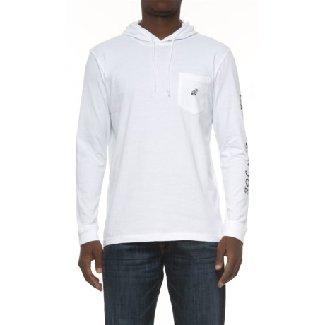 Caribbean Joe Logo Hoodie Shirt - Long Sleeve (For Men)