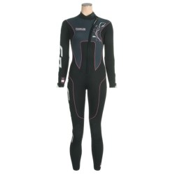Camaro Stingray Semi-Dry Diving Wetsuit - 3mm (For Women)