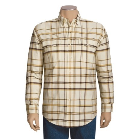 Roper Amarillo Shirt - Oxford Plaid, Long Sleeve (For Men)