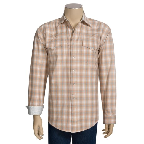 Stetson Classic Ombre Plaid Shirt - Long Sleeve (For Men)