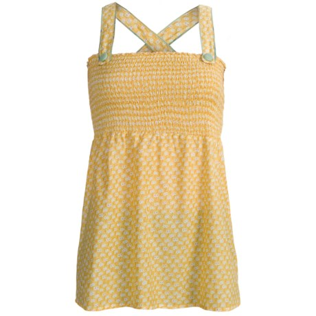 Roper Baby Doll Shirt - Sleeveless, Floral Print (For Women)