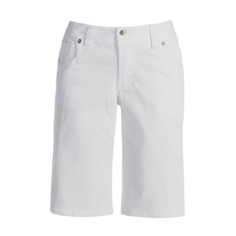 Roper Stretch Denim Bermuda Shorts (For Women)