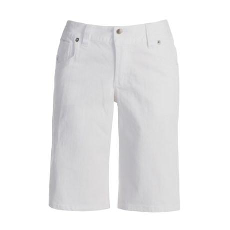Roper Stretch Denim Bermuda Shorts (For Women)