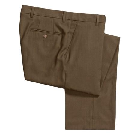 Barry Bricken Wool Dress Pants - Flat Front (For Men)