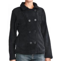 Avalanche Boston Pea Coat - Fleece (For Women)