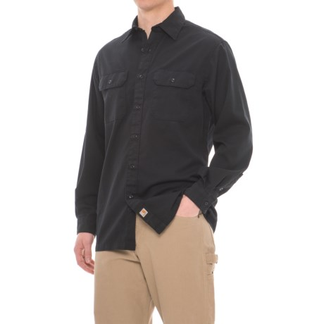 Carhartt Weathered Twill Work Shirt - Long Sleeve, Factory Seconds (For Men)