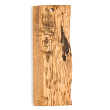 Enrico Products Enrico Olive Wood Live Edge Cutting Board - Large