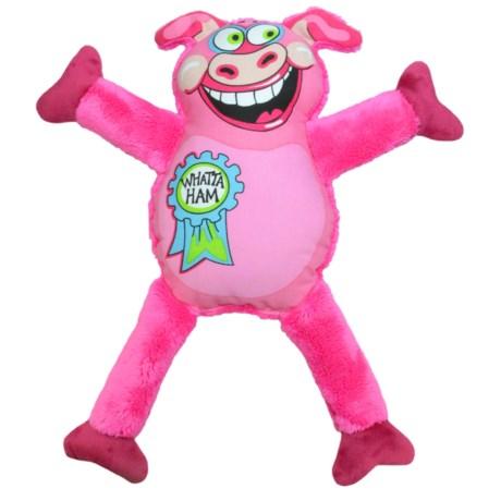 Petstages Madcap Whatta Ham Dog Toy - Squeaker